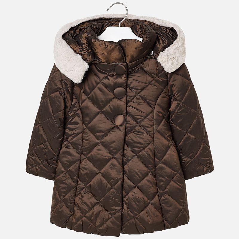 Куртка на синтепоне для девочки