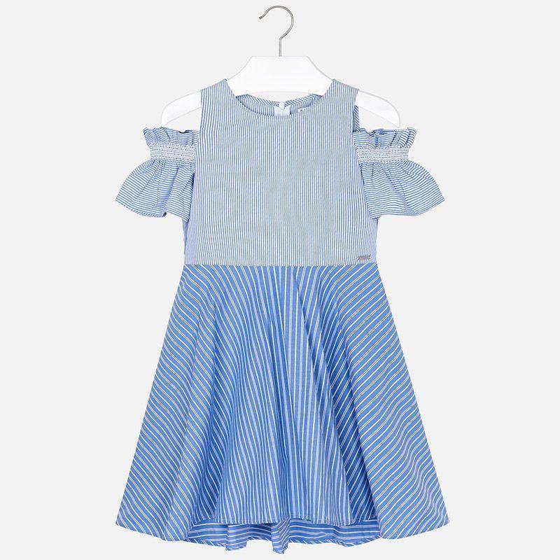 Полосатое платье для девочки
