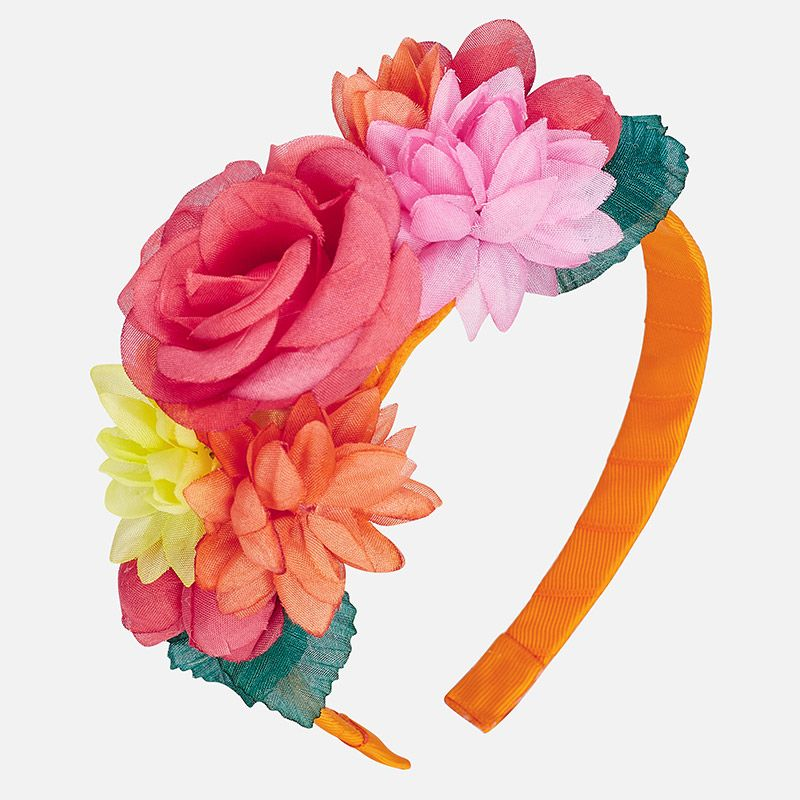 """Ободок """"цветы"""" для девочки"""