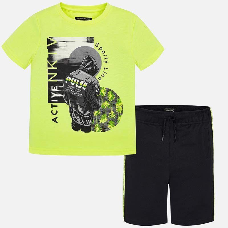 """Комплект: футболка и шорты """"ACTIVE"""" для мальчика"""