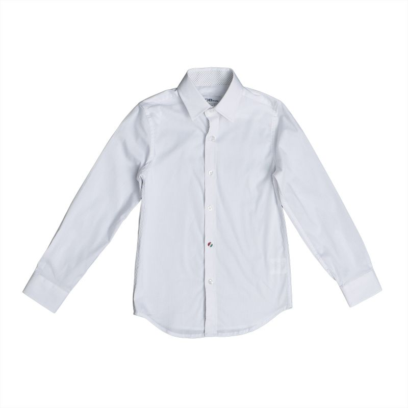 Классическая рубашка с длинным рукавом для мальчика