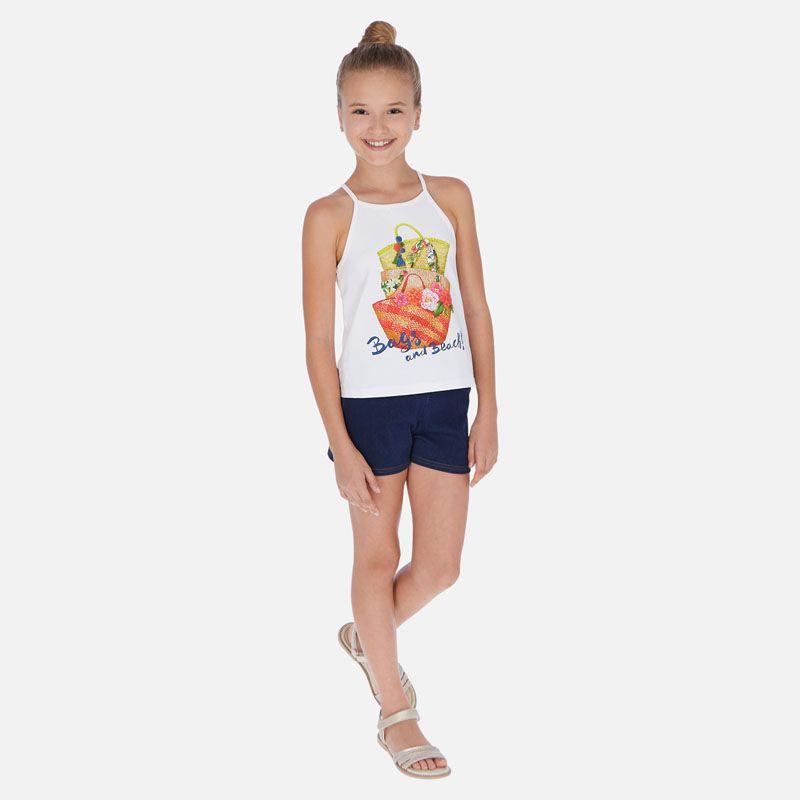 Комплект: майка с шортами для девочки