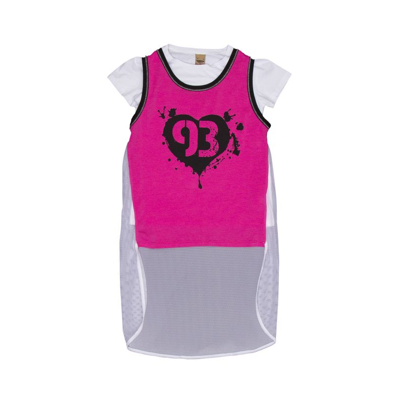 Майка + футболка для девочки