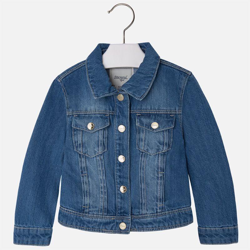 Кардиган джинсовый для девочки