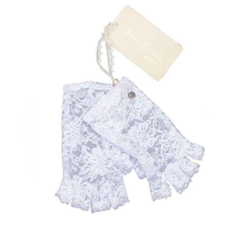 Перчатки-гловелетты для девочки