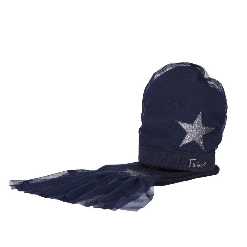Комплект: шапка+шарф для девочки