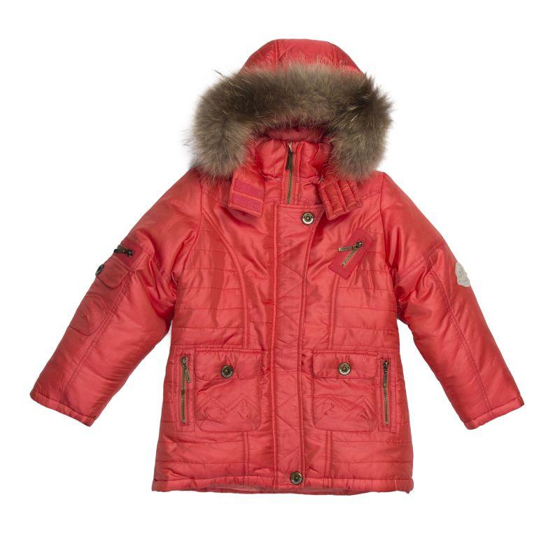Куртка на пуху для девочки