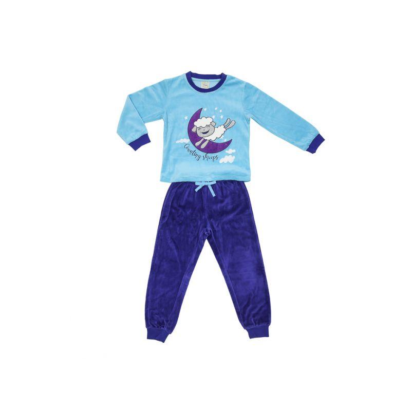 Пижама велюровая для девочки