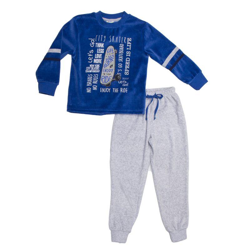 Пижама велюровая для мальчика