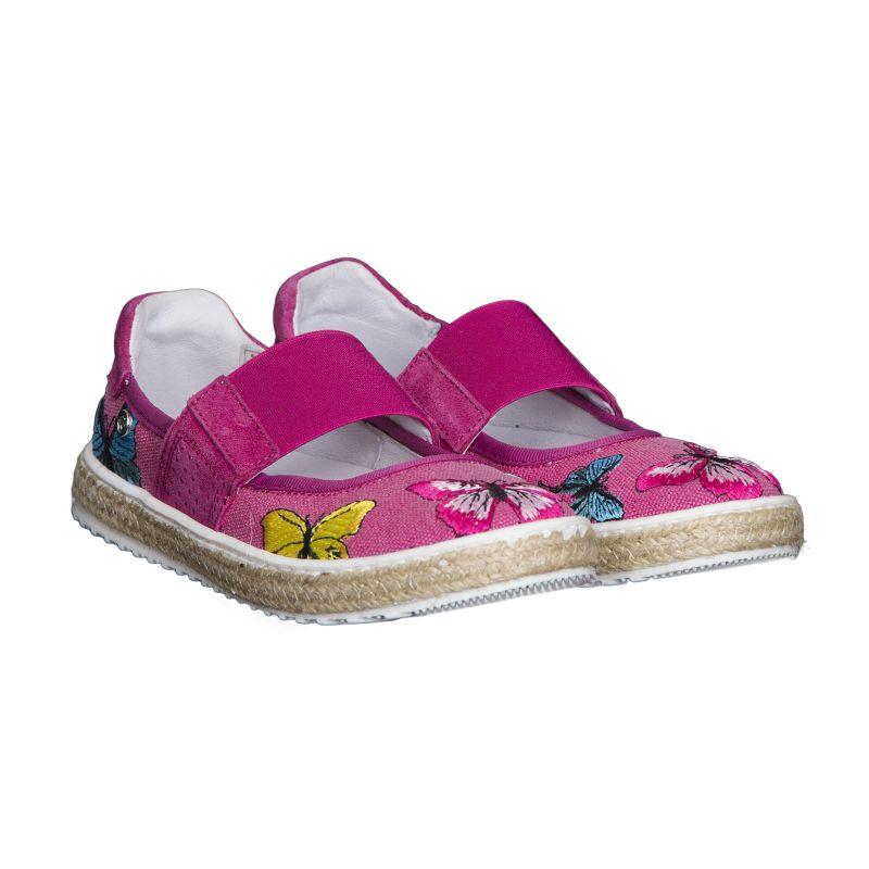 Туфли-эспадрильи для девочки