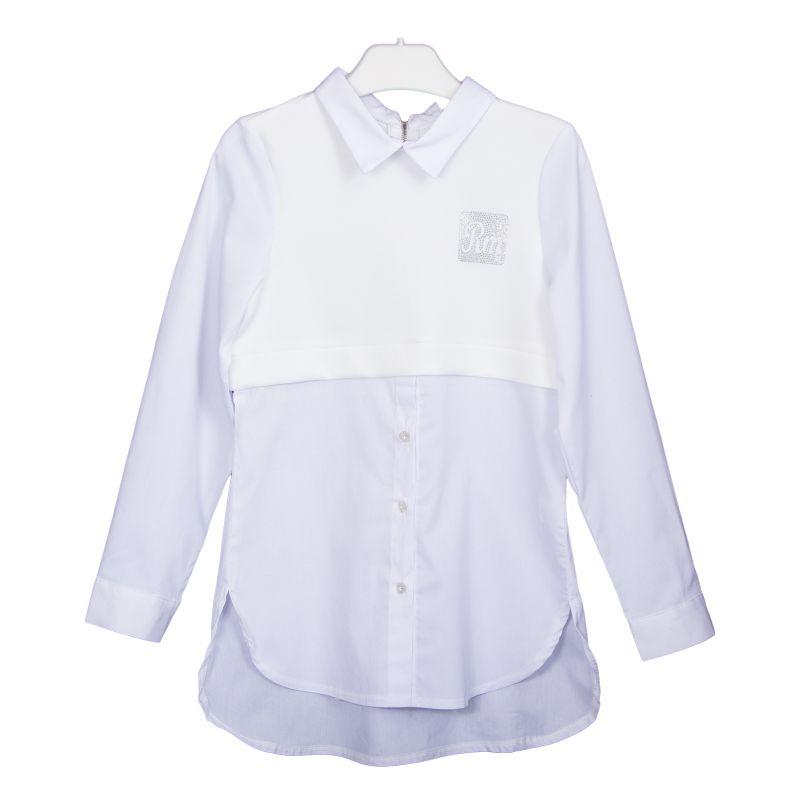 Блуза комбинированная для девочки
