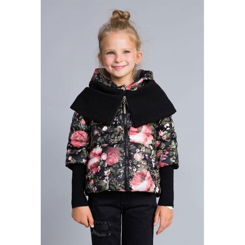 Куртка комбинированная для девочки